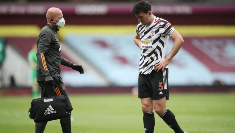 Harry Maguire doubtful for Europa League final after sustaining an injury