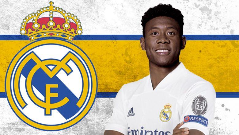 Real Madrid confirm signing of Austria international David Alaba