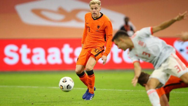 Netherlands midfielder Van de Beek ruled out of Euro 2020