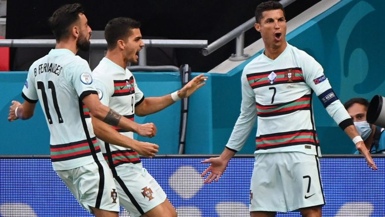 Cristiano Ronaldo breaks European Championship goalscoring record
