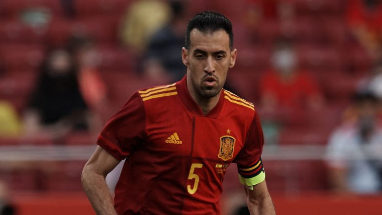 Spain captain Busquets tests positive for COVID-19 ahead of Euro 2020