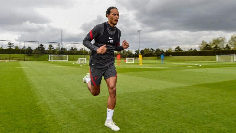 Van Dijk nears return as the he joins Liverpool pre-season training camp